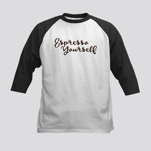Umsted Design espresso yourself Baseball Jersey