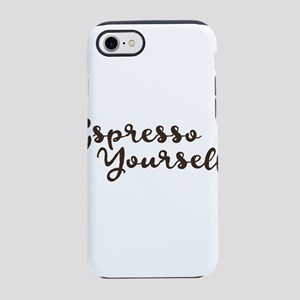 Umsted Design espresso yours iPhone 8/7 Tough Case