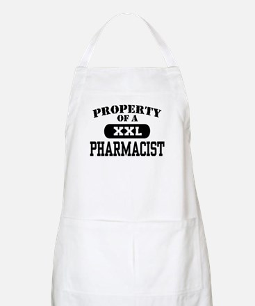 Property of a Pharmacist BBQ Apron