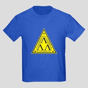 Lambda Lambda Lambda Kids Dark T-Shirt