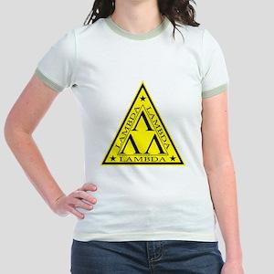 Lambda Lambda Lambda Jr. Ringer T-Shirt