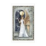 Dove Angel - Night Angel Rectangle Sticker
