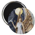 "Dove Angel - Night Angel 2.25"" Magnet (10 pack)"