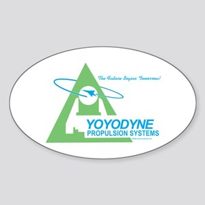 Yoyodyne Oval Sticker