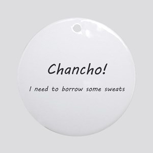 Umsted Design Nacho Libre Quotes Round Ornament