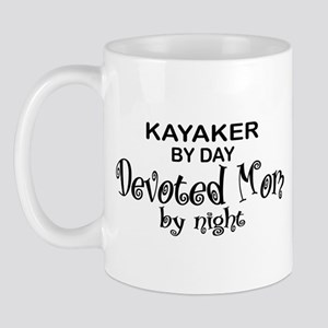 Kayaker Devoted Mom Mug