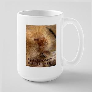 I Want Out Large Mug