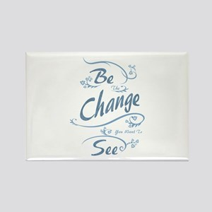 Umsted Design Be The Change You Want To Se Magnets