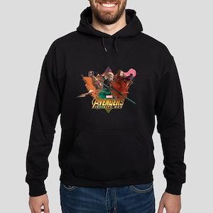 Avengers Infinity War Women Hoodie (dark)