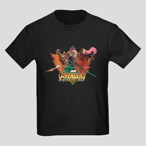 Avengers Infinity War Women Kids Dark T-Shirt