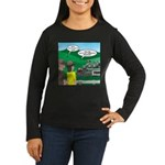 Jambo Food Distri Women's Long Sleeve Dark T-Shirt