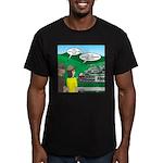 Jambo Food Distributio Men's Fitted T-Shirt (dark)
