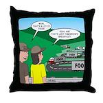 Jambo Food Distribution Throw Pillow