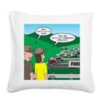 Jambo Food Distribution Square Canvas Pillow