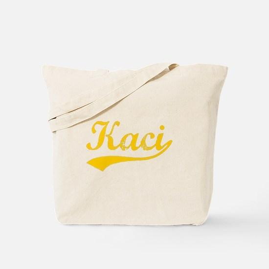 Vintage Kaci (Orange) Tote Bag