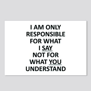 Umsted Design I Am Only R Postcards (Package of 8)