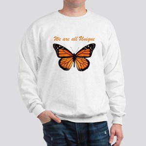 We Are All Unique: Butterfly Sweatshirt