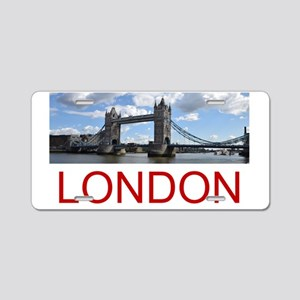 Tower Bridge Aluminum License Plate