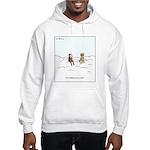 Curiosity Killed The Cat Cartoon Hooded Sweatshirt