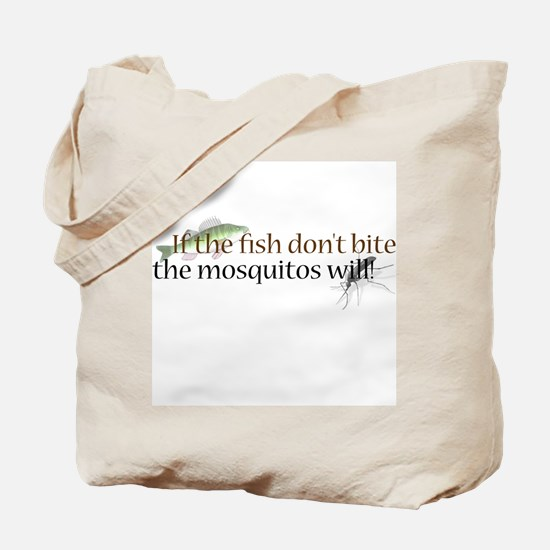 Fish & Mosquitos Tote Bag