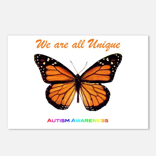 Butterfly: Autism Awareness Postcards (Package of
