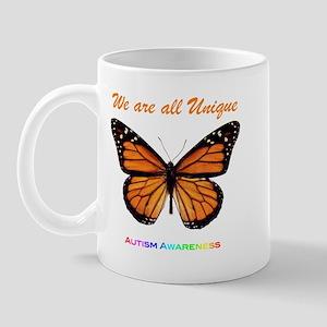 Butterfly: Autism Awareness Mug