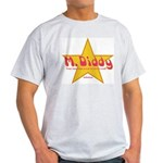 M Diddy Gold Star Ash Grey T-Shirt