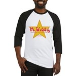 M Diddy Gold Star Baseball Jersey