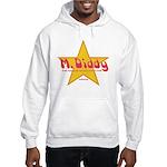 M Diddy Gold Star Hooded Sweatshirt