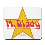 M Diddy Gold Star Mousepad