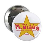 M Diddy Gold Star Button