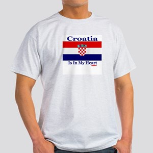 Croatia - Heart Light T-Shirt