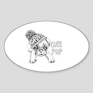 Dog vintages Sticker