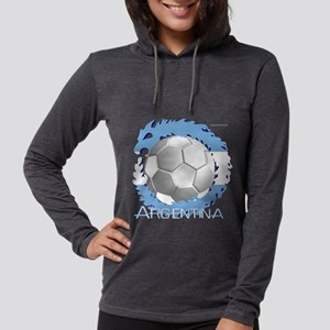 Soccer Dragon Argentina Long Sleeve T-Shirt