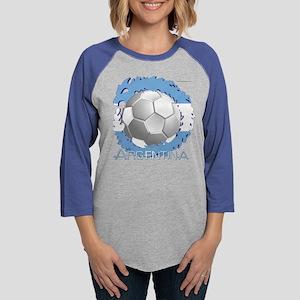 Soccer Dragon Argentina Long Sleeve T-Shirt