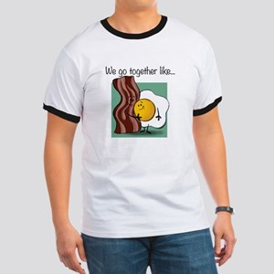 Bacon and Eggs White T-Shirt