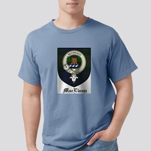 MacEwan Clan Crest Tartan White T-Shirt