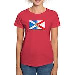 Women's Dark Scots Irish American T-Shirt