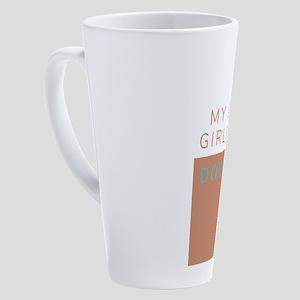 My other girlfriend 17 oz Latte Mug