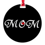 Mom with a red heart Ornament