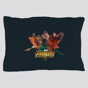 Avengers Infinity War Lineup Pillow Case