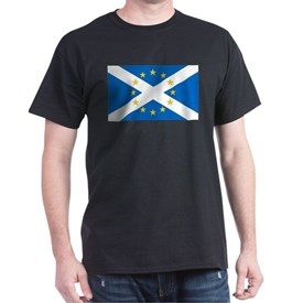 Yes to Independent European Scotland Flag T-Shirt