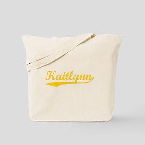Vintage Kaitlynn (Orange) Tote Bag