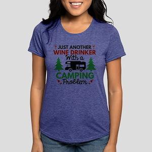 af679cf0e8 Wine Drinker Camping White T-Shirt