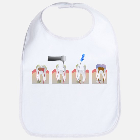Root Canal Cotton Baby Bib