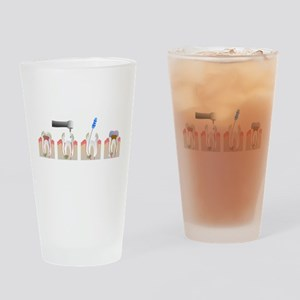 Root Canal Drinking Glass