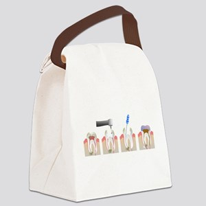 Root Canal Canvas Lunch Bag
