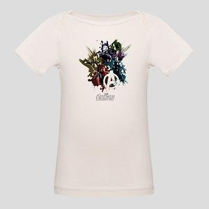 Avengers Infinity War Splatte Organic Baby T-Shirt
