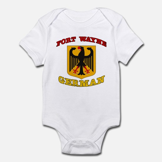 Fort Wayne German Infant Bodysuit