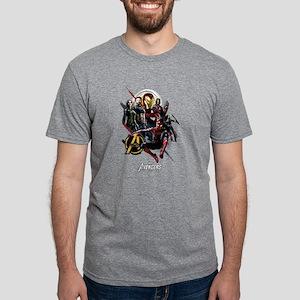 Avengers Infinity War Fight Mens Tri-blend T-Shirt